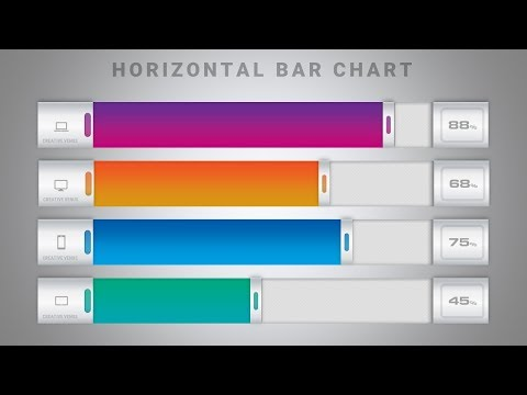 How To Create a Beautiful Bar Chart in Microsoft Office PowerPoint PPT