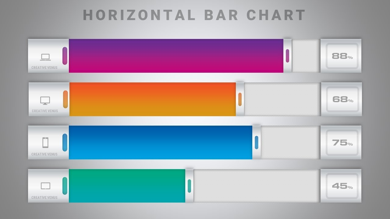 How to create a beautiful bar chart in microsoft office powerpoint how to create a beautiful bar chart in microsoft office powerpoint ppt ccuart Gallery