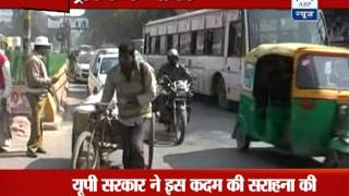 News positive: 'Heroes' of Kanpur's traffic