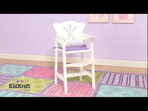 Kidkraft Dolls Highchair 61101   Childrens Play High Chair   Jadlam Racing  Models