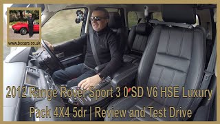 Review and Virtual Video Test Drive In Our Range Rover Sport 3 0 SD V6 HSE Luxury Pack 4X4 5dr