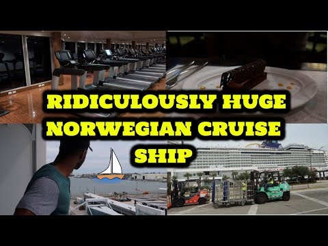 DAY 2 | RIDICULOUSLY HUGE NORWEGIAN CRUISE SHIP