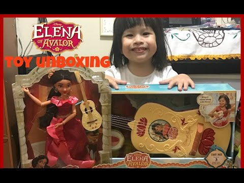 Elena Of Avalor Toy Unboxing  December 4, 2016  A Few Moments With Kary
