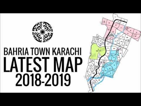 Bahria Town Karachi Full Updated Master Plan 2018-2019