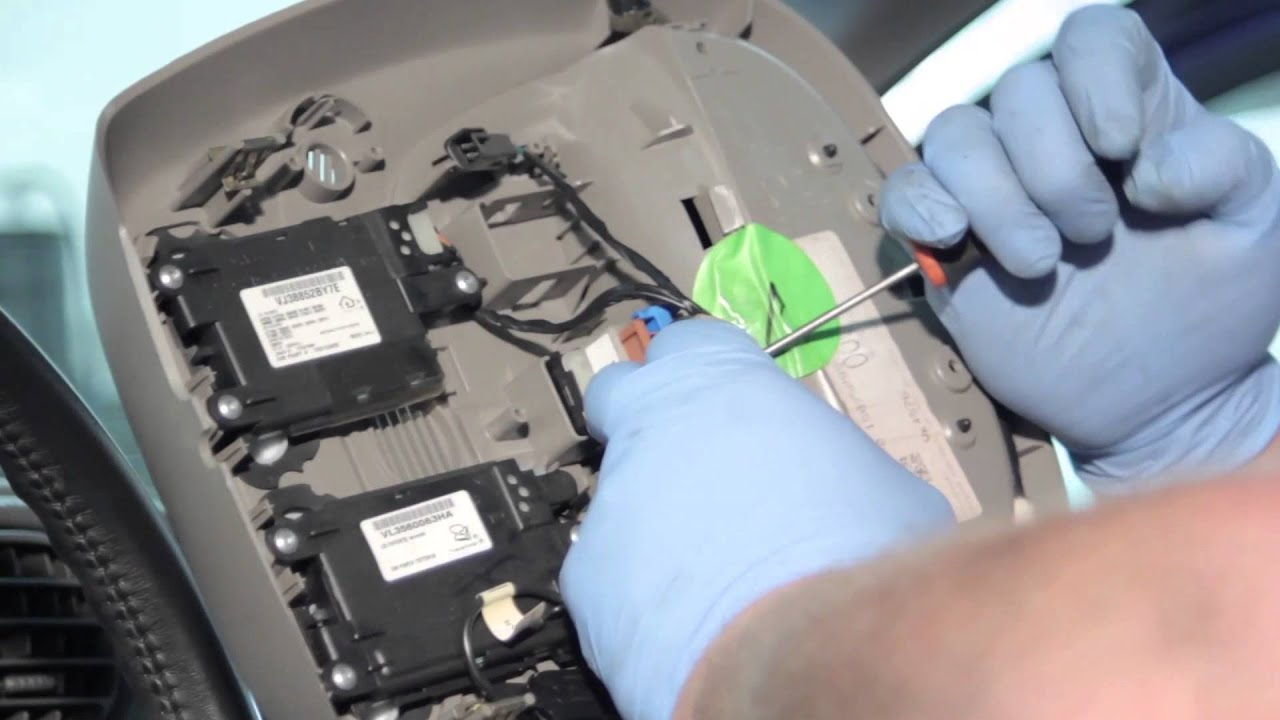medium resolution of gm power sunroof switch installation