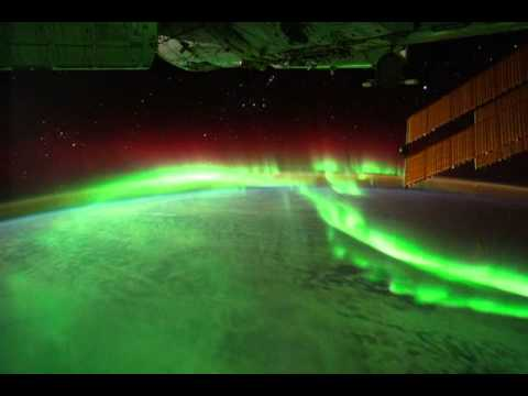 Aurora Borealis from space, Sept. 17, 2011.mov - YouTube