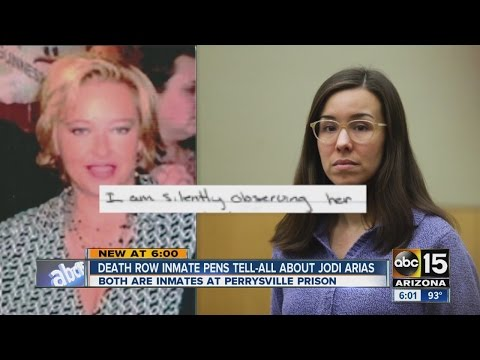 Death row inmate pens tell-all about Jodi Arias