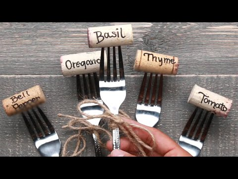 4 Ways to Use Wine Corks in Your Garden