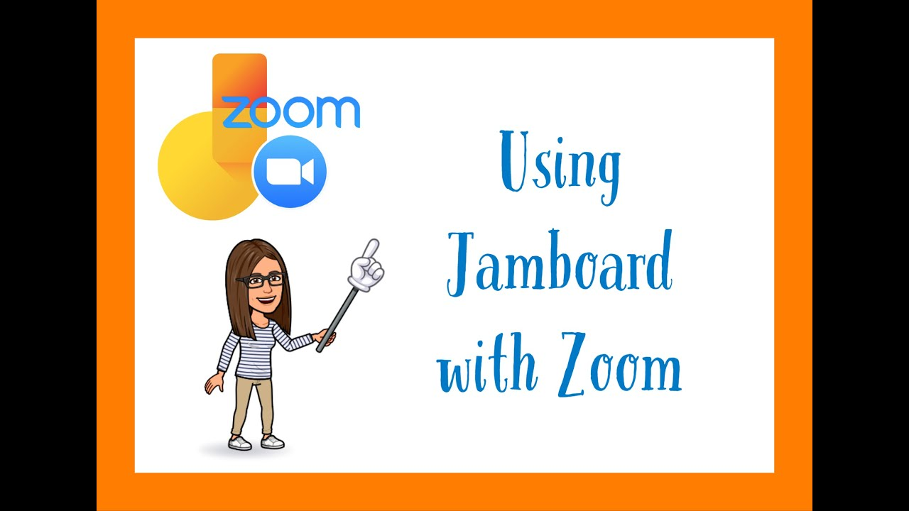Using Jamboard with Zoom
