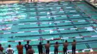 Fastest 50m Underwater Dolphin Kick Hill Taylor