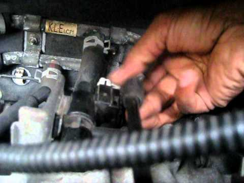 IAC valve 2000 Mazda mpv lx,cleaning/replace - YouTube