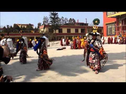Buddhist in Kathmandu, Nepal Celebrating Losar