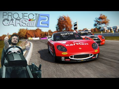 Project Cars 2 - ЭТО ПРОСТО ОФИГЕННО! 100% GOTY! Новая карьера на Ginetta GT5 VR Oculus Rift