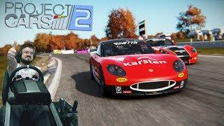 project Cars 2 - ЭТО ПРОСТО ОФИГЕННО! 100 GOTY! Новая карьера на Ginetta GT5 VR Oculus Rift