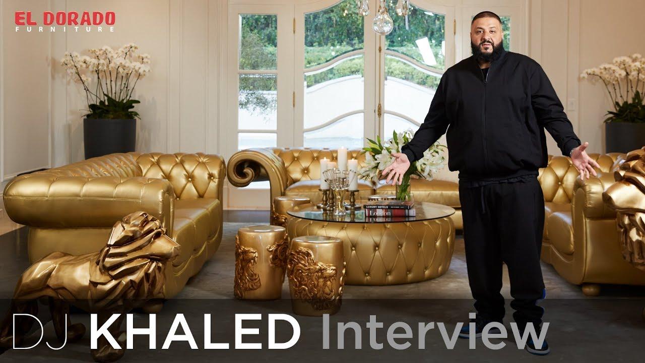 DJ Khaled On His Inspiration For WE THE BEST HOME! | El Dorado Furniture
