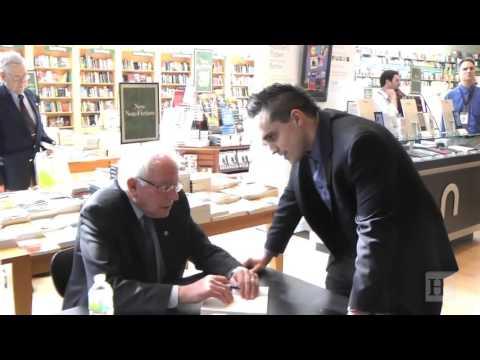 Socialist Senator Sanders Hawks His Book