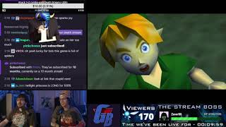 Avenging My Youth: Ocarina of Time First-time, Single-Stream Playthrough! [1/2]