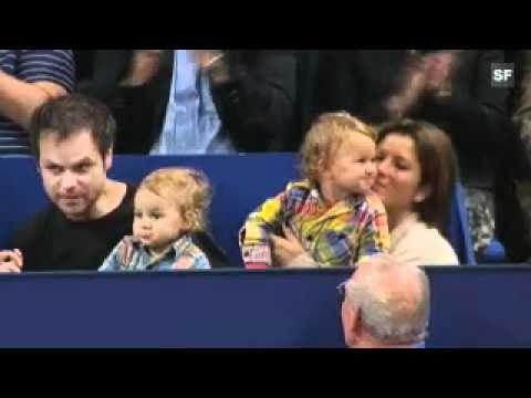 Roger Federer Basel 2010 - Twins
