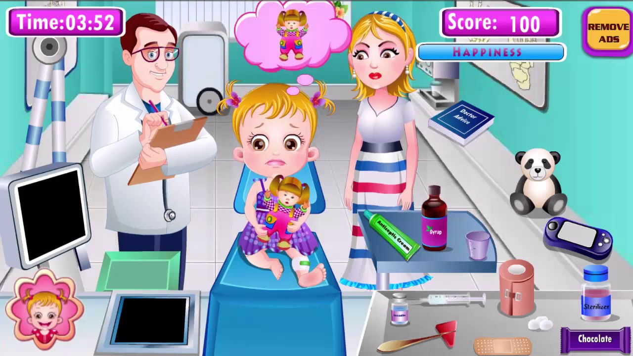 The Boss Baby Official TV  - Baby Hazel Leg Injury - Game for Kids to Learn English