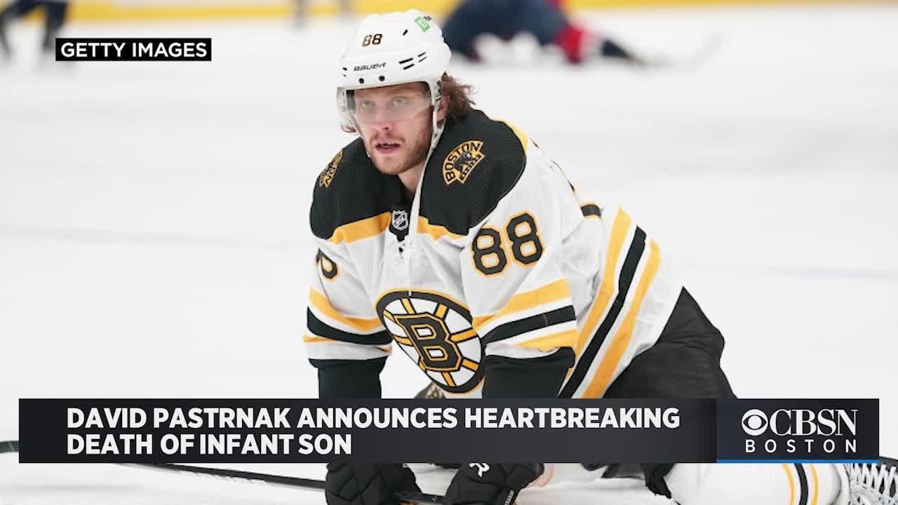 Bruins' David Pastrnak announces death of newborn son: 'You will ...
