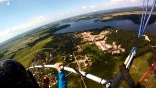 Полеты на паралете, Лечищево, июль 2013