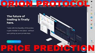 Orion Protocol Price Prediction Orion Protocol Review ORN Token Coin Staking Binance Listing News