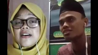 Video Smule hasbi santri wati ya badrotim merdu bikin merinding download MP3, 3GP, MP4, WEBM, AVI, FLV Juli 2018