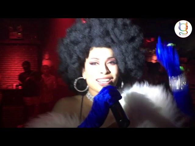 Sunday Gay Night at Maggie Choo's Disco Balls Theme MeannieMinaJ I WILL SURVIVE