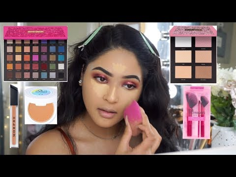 NEW DRUGSTORE MAKEUP 2018: FULL FACE FIRST IMPRESSIONS |Taisha