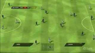 FIFA Soccer 10 PlayStation 3 Gameplay Barcelona vs Sevilla