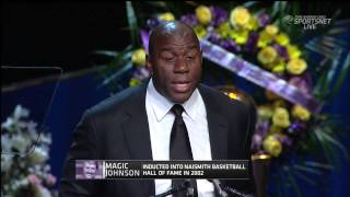 Magic Talking About Dr. Jerry Buss