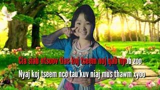 Cia Siab Tias Koj Tseem Nyob Zoo (Karaoke) by Tso Moo Thoj🎵
