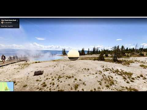 Where The Cams Are. A Tour of Yellowstone on Google Maps.