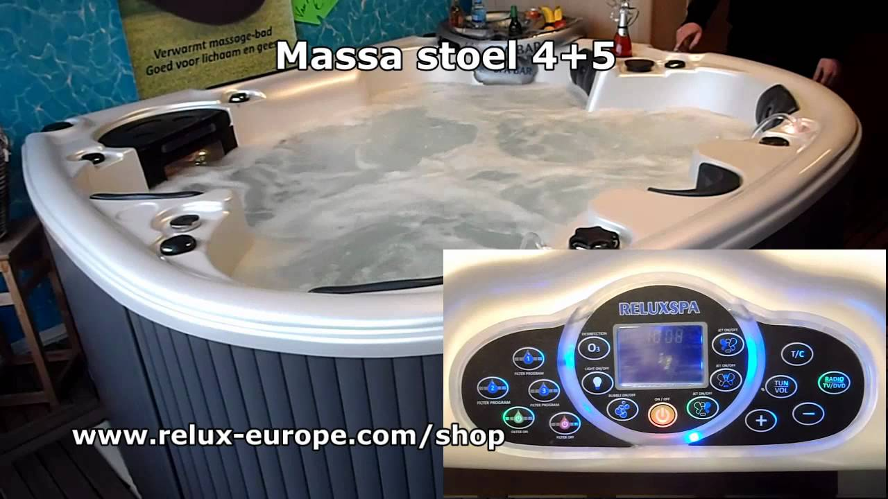 Massage Relux Spa Unique - Jacuzzi Whirlpool Hot tub massage ...