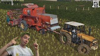 ☆Holowanie Zabytkowego Bizona?!☆Nieudane Żniwa☆[Polska Kraina#7☆[LATO]Farming Simulator 2017