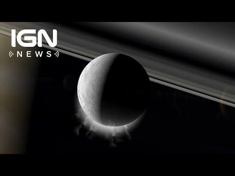 Saturn's Moon Enceladus Has a Warm Global Ocean - IGN News