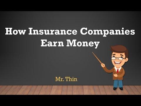 How Insurance Companies EarnsMoney | Insurance Business Model