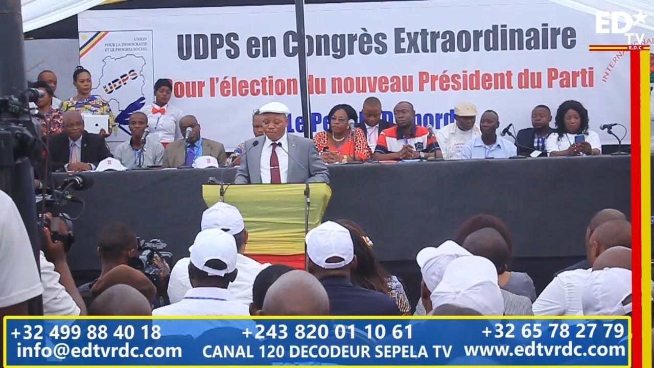 UDPS CONGRES EXTRAORDINAIRE: LE DISCOURS HISTORIQUE DE JM KABUND
