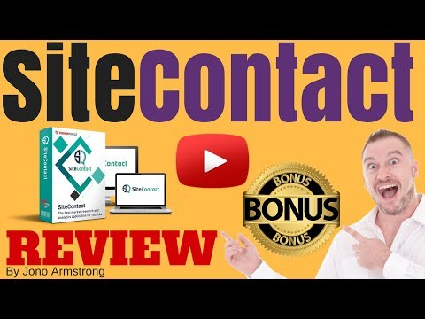 Site Contact Review, ⚠️WARNING⚠️ DON'T BUY SITE CONTACT WITHOUT MY 👷CUSTOM👷 BONUSES!!