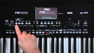 KORG Pa300 Video Manual - Part 1: Introduction and Navigation
