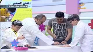 مؤسس المخترع الصغير .. يوسف سباعنة يقدم ورشة عمل