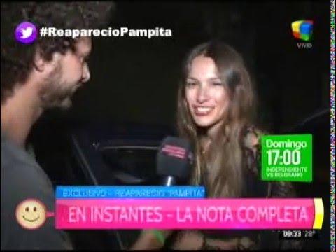 Pampita va al frente: Se enojó con un periodista y salió a cruzarlo en Twitter