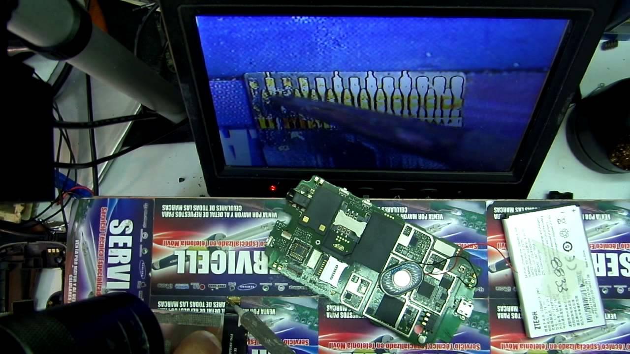 cba21866338 reparacion ZTE open no da luz en display o imagen - YouTube