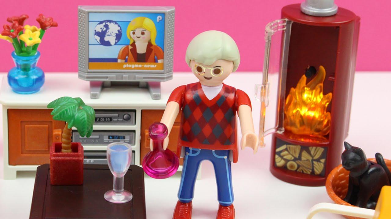 Sala de estar de playmobil 5332 serie rosa juguetes de - Playmobil wohnzimmer 5332 ...