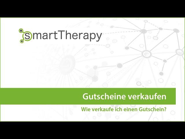 smartTherapy: Gutschein verkaufen