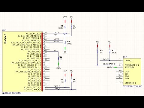 Building the Arduino-FPGA Shield Part 2 - the SPI Flash Configuration  Circuit