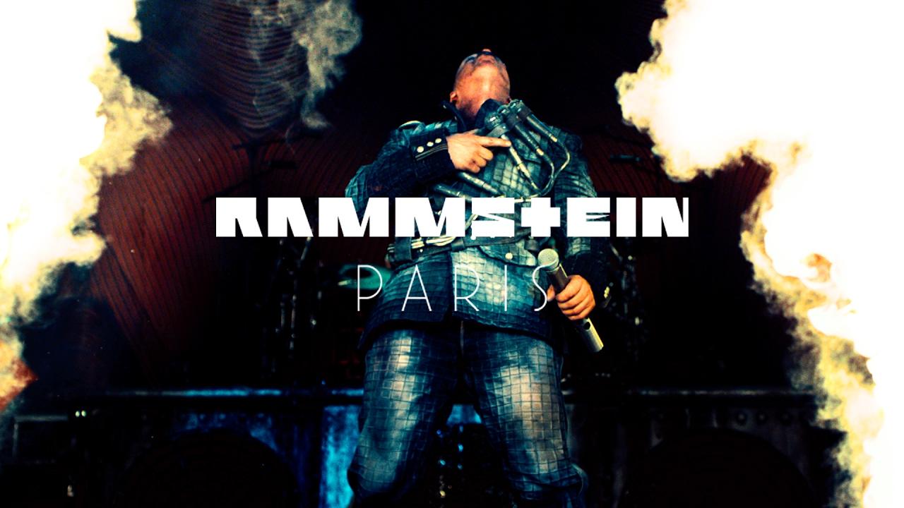 Rammstein Paris Film