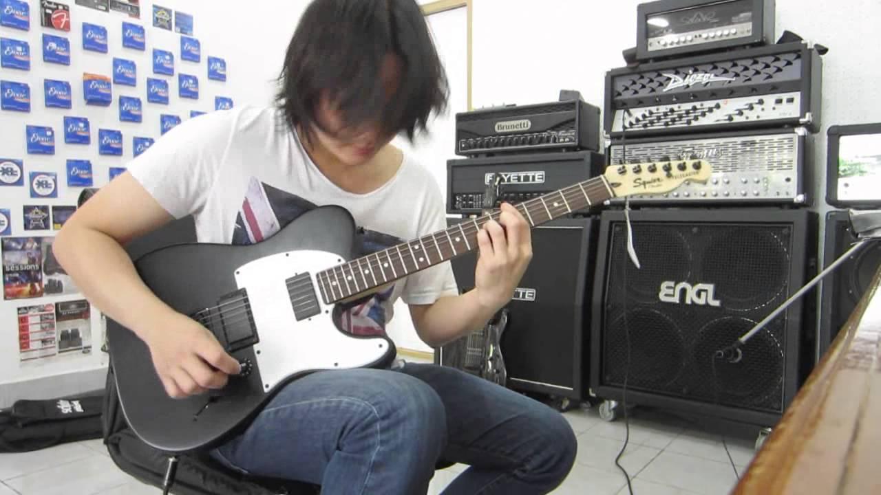 Squier Jim Root Signature Telecaster Electric Guitar Drive