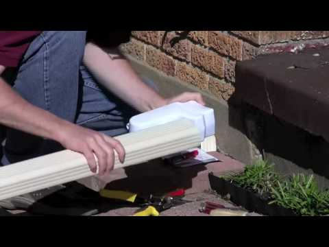 Installing the Garden Watersaver Downspout Attachment