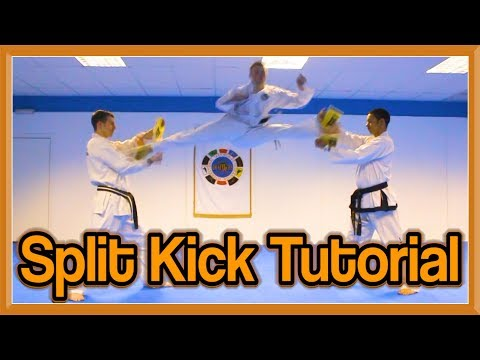Taekwondo Split Kick Tutorial (Scissor Kick Version) | GNT How to